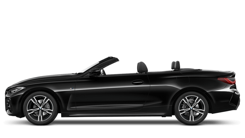 Black Sapphire (Metallic) BMW 4 Series Convertible