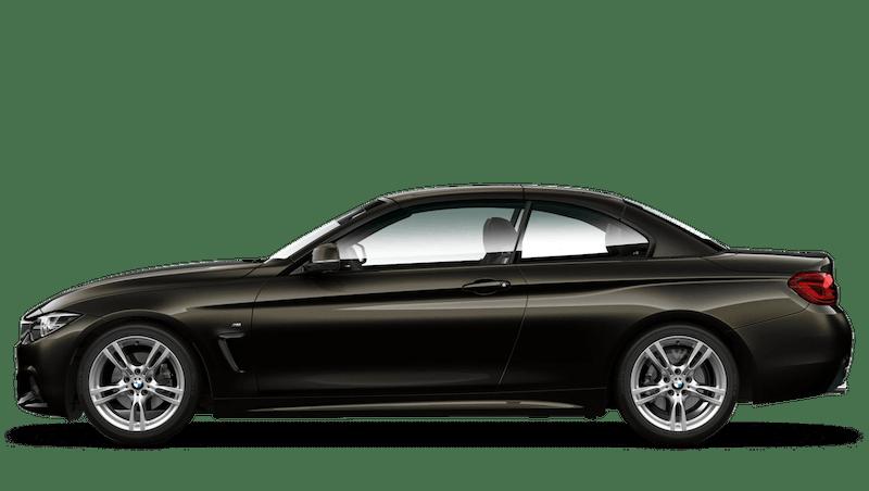 Citrine Black (Individual Paint) BMW 4 Series Convertible