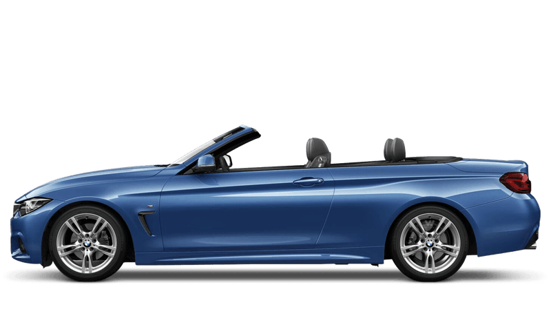 Estoril Blue (Metallic) BMW 4 Series Convertible