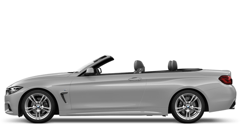 Glacier Silver (Metallic) BMW 4 Series Convertible