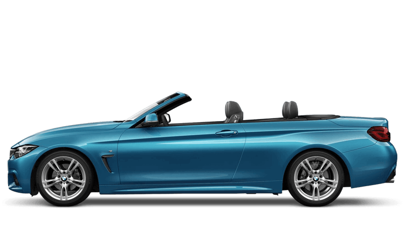Snapper Rocks Blue (Metallic) BMW 4 Series Convertible