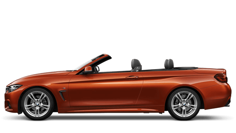 Sunset Orange (Metallic) BMW 4 Series Convertible