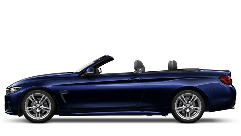 Tanzanite Blue (Metallic) BMW 4 Series Convertible
