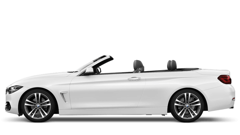 Alpine White (Solid) BMW 4 Series Convertible
