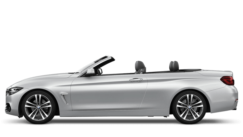 Glacier Silver (Metallic) BMW 4 Series Convertible