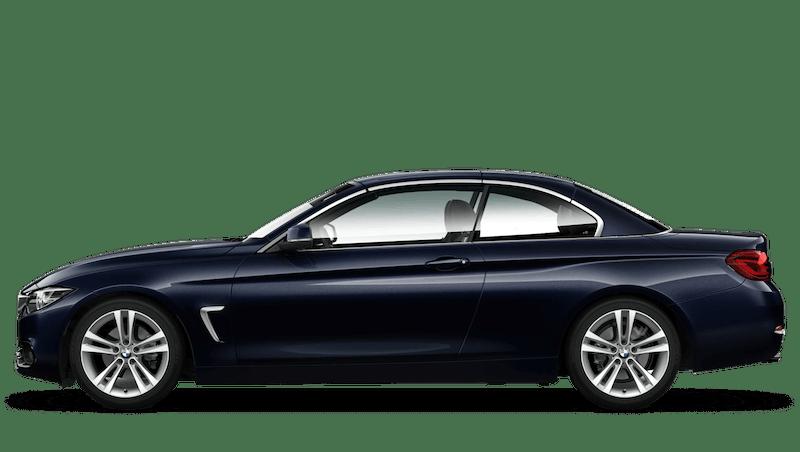 Imperial Blue (Metallic) BMW 4 Series Convertible