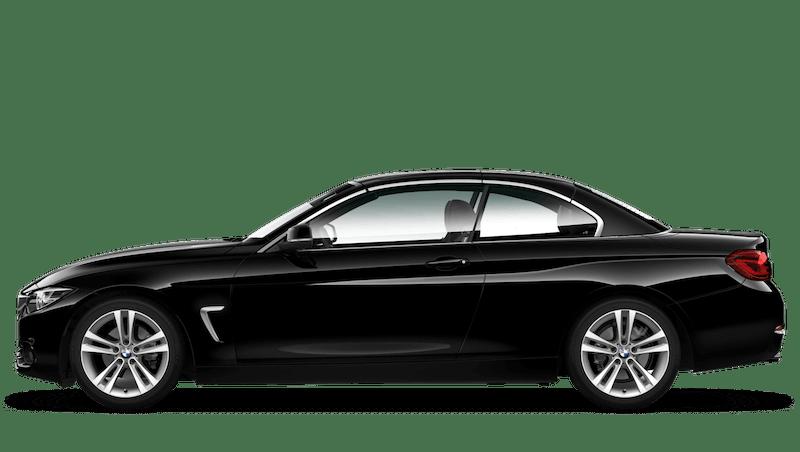 Jet Black (Solid) BMW 4 Series Convertible