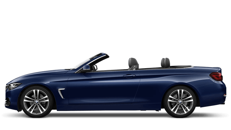 Mediterranean Blue (Metallic) BMW 4 Series Convertible