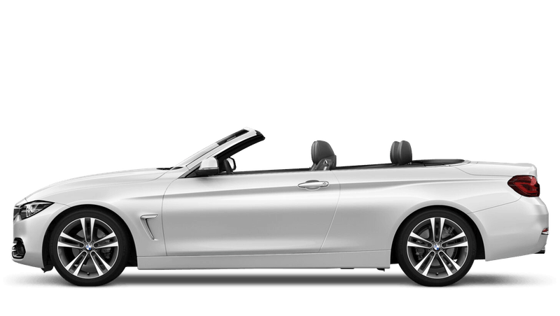 Mineral White (Metallic) BMW 4 Series Convertible