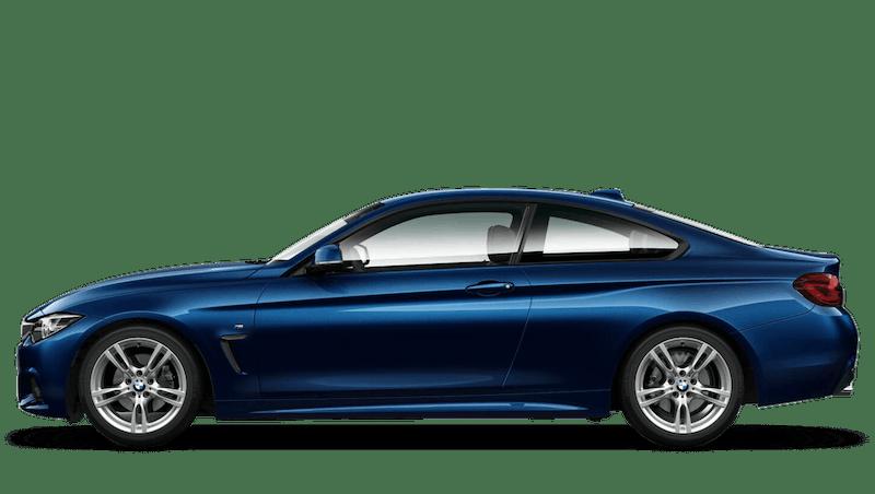Tanzanite Blue (Metallic) BMW 4 Series Coupe