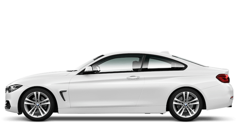 Alpine White (Solid) BMW 4 Series Coupe