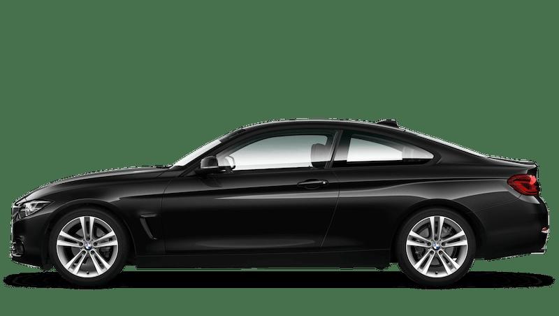 Black Sapphire (Metallic) BMW 4 Series Coupe