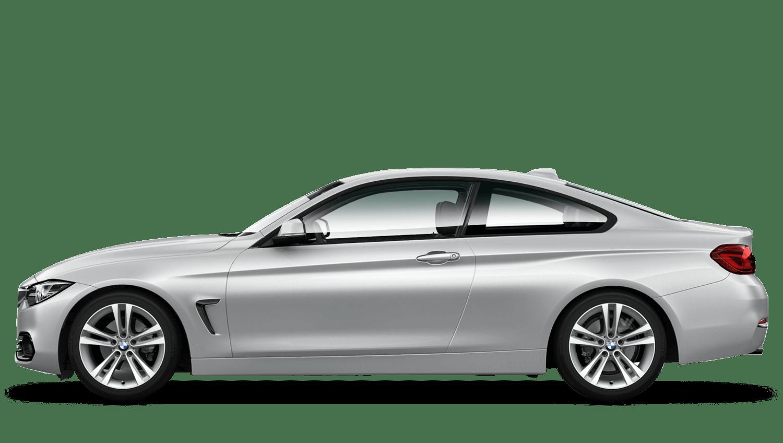 Glacier Silver (Metallic) BMW 4 Series Coupe