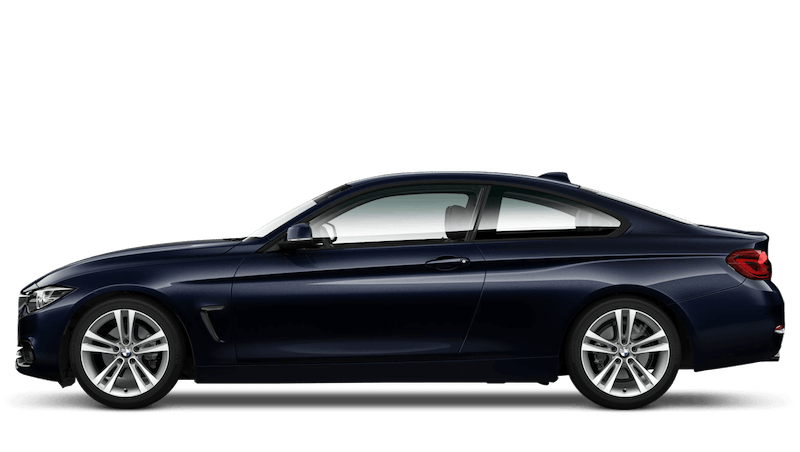 Imperial Blue (Metallic) BMW 4 Series Coupe