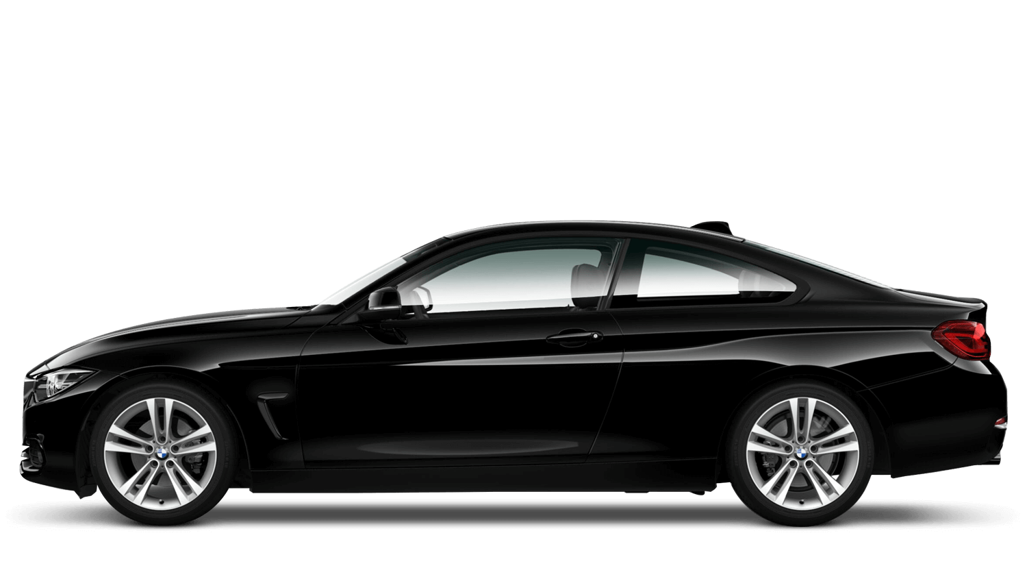 Jet Black (Solid) BMW 4 Series Coupe