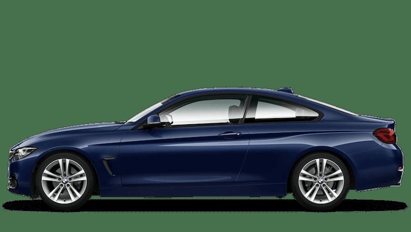 Mediterranean Blue (Metallic) BMW 4 Series Coupe