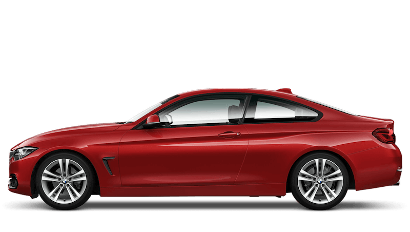 Melbourne Red (Metallic) BMW 4 Series Coupe