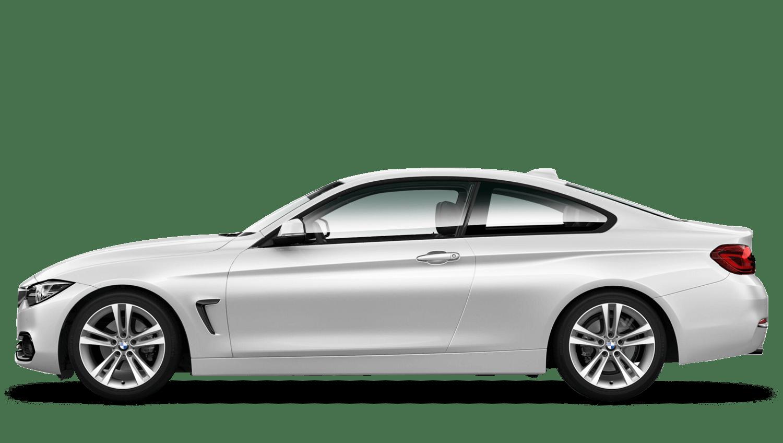 Mineral White (Metallic) BMW 4 Series Coupe