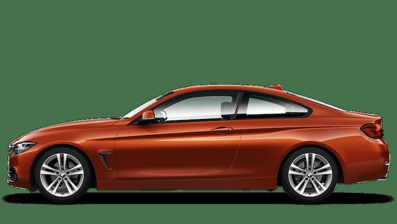 Sunset Orange (Metallic) BMW 4 Series Coupe