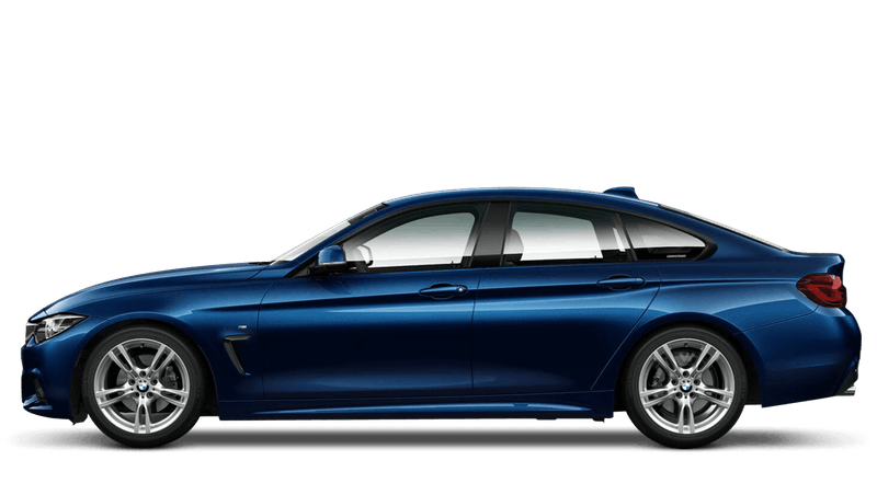 Tanzanite Blue (Individual Paint) BMW 4 Series Gran Coupe