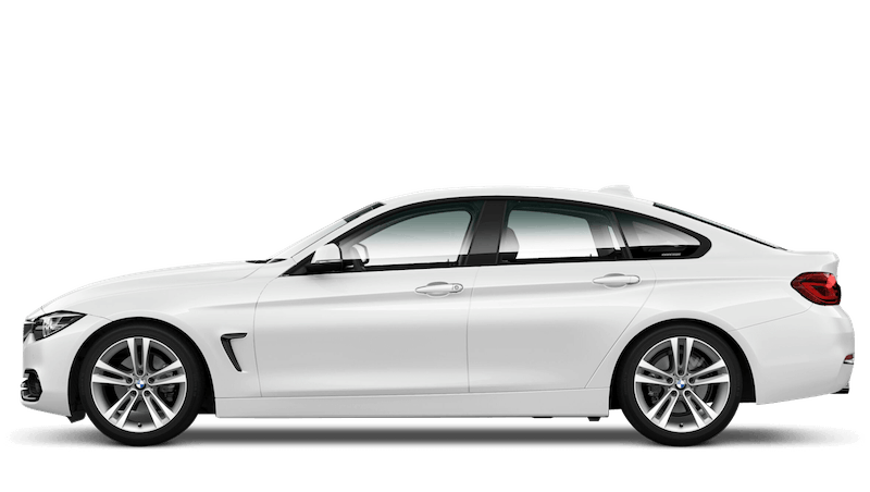 Alpine White (Solid) BMW 4 Series Gran Coupe