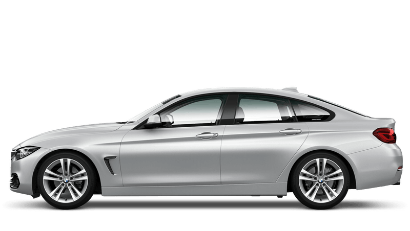 Glacier Silver (Metallic) BMW 4 Series Gran Coupe