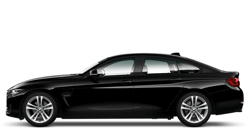 Jet Black (Solid) BMW 4 Series Gran Coupe