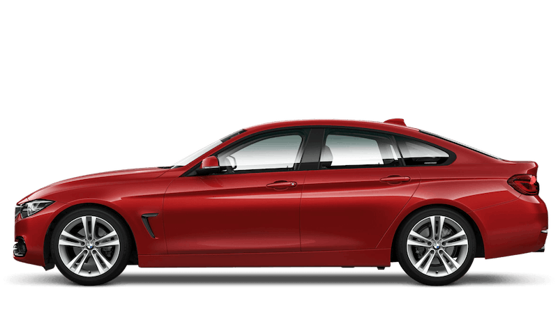 Melbourne Red (Metallic) BMW 4 Series Gran Coupe