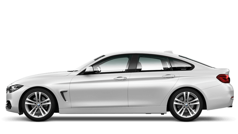 Mineral White (Metallic) BMW 4 Series Gran Coupe