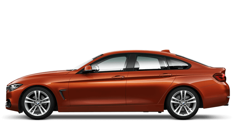 Sunset Orange (Metallic) BMW 4 Series Gran Coupe