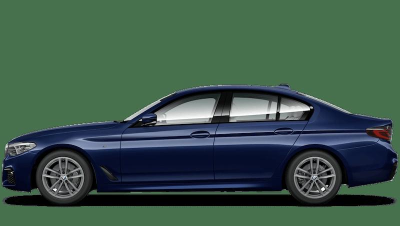 Mediterranean Blue (Metallic) BMW 5 Series Saloon