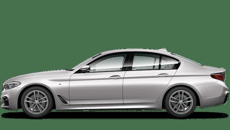 Rhodonite Silver (Individual Paint) BMW 5 Series Saloon