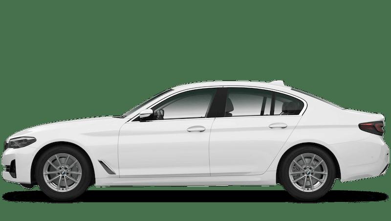Alpine White (Solid) BMW 5 Series Saloon