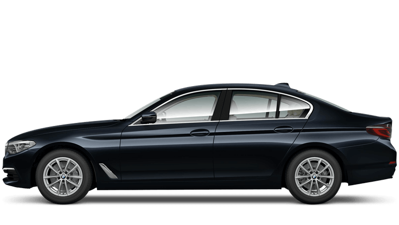 Azurite Black (Individual Paint) BMW 5 Series Saloon