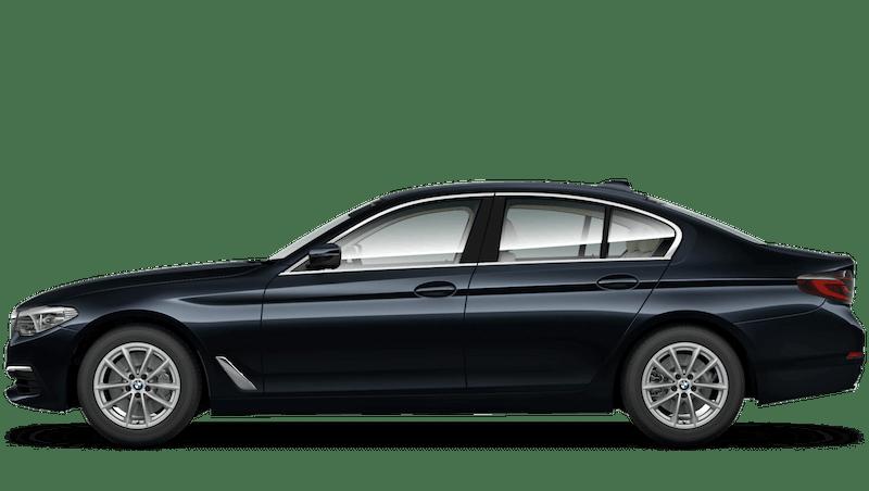 Azurite Black (Individual Paint) BMW 5 Series Saloon
