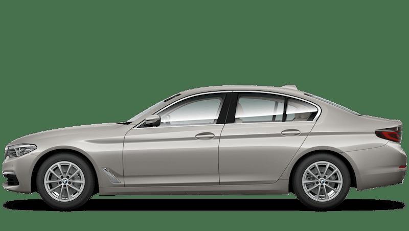 Cashmere Silver (Metallic) BMW 5 Series Saloon