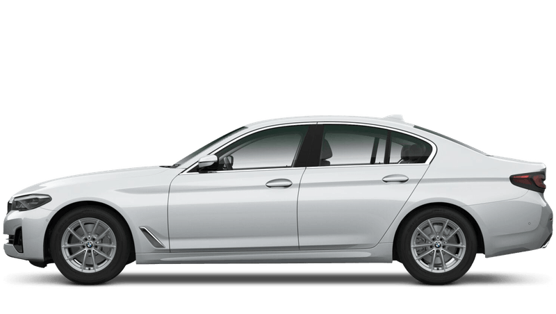 Glacier Silver (Metallic) BMW 5 Series Saloon