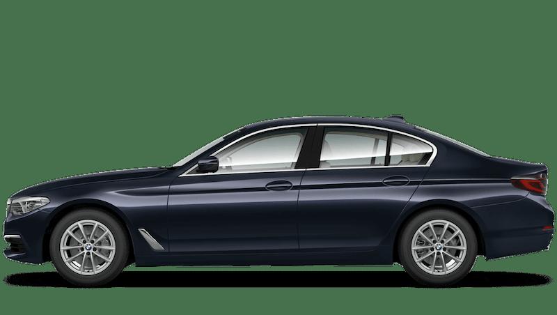 Imperial Blue (Xirallic) BMW 5 Series Saloon