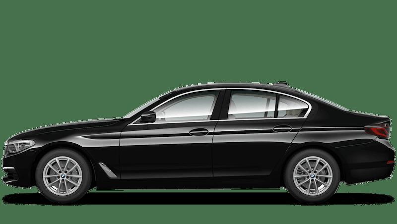 Jet Black (Solid) BMW 5 Series Saloon