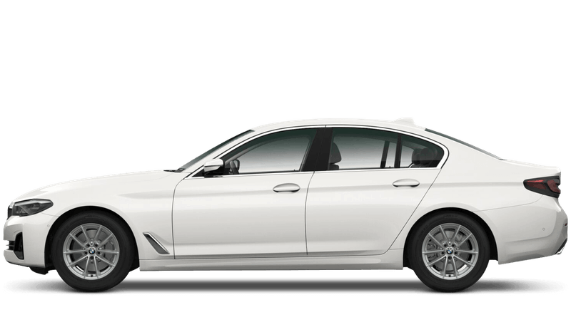 Mineral White (Metallic) BMW 5 Series Saloon