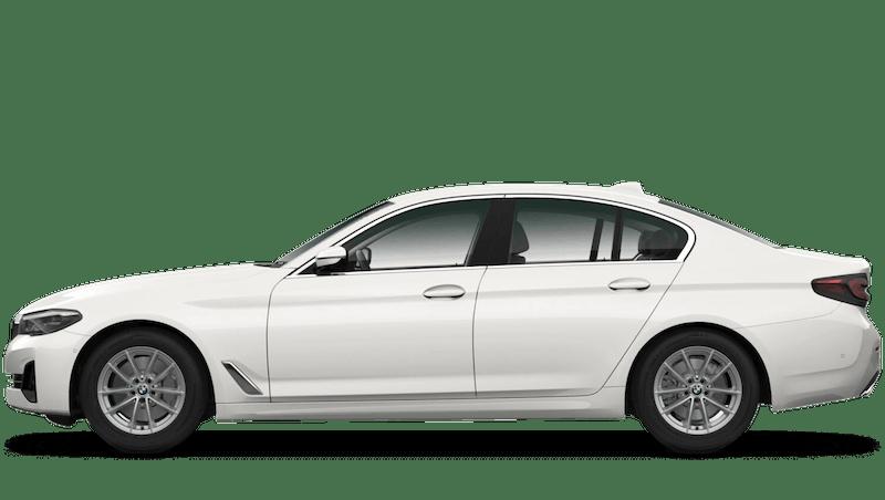 Mineral White (Metallic) BMW 5 Series Saloon