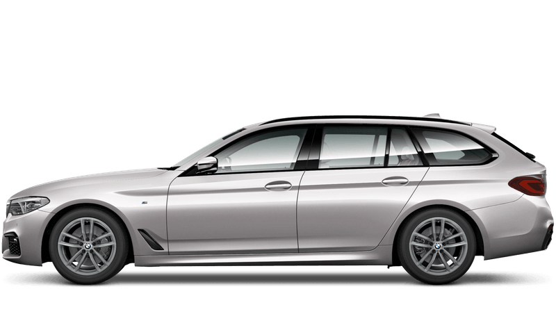 Rhodonite Silver (Individual Paint) BMW 5 Series Touring