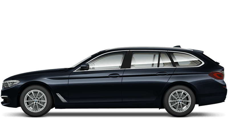 Azurite Black (Individual Paint) BMW 5 Series Touring
