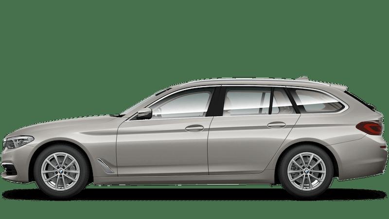 Cashmere Silver (Metallic) BMW 5 Series Touring