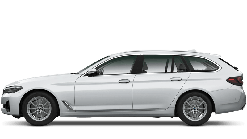 Glacier Silver (Metallic) BMW 5 Series Touring