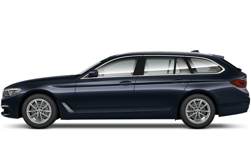Imperial Blue (Xirallic) BMW 5 Series Touring