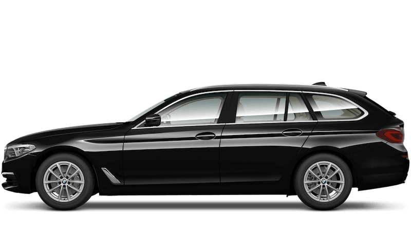 Jet Black (Solid) BMW 5 Series Touring