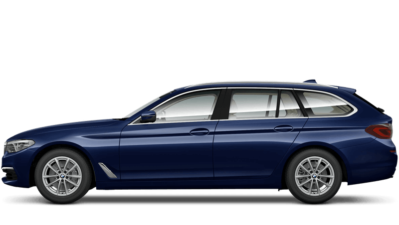 Mediterranean Blue (Metallic) BMW 5 Series Touring