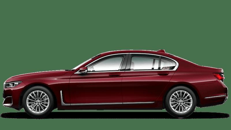 Aventurine Red (Metallic) BMW 7 Series Saloon