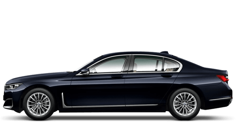 Azurite Black (Metallic) BMW 7 Series Saloon